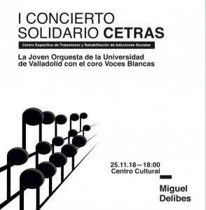 I Concierto Solidario CETRAS @ Centro Cultural Miguel Delibes | Valladolid | Castilla y León | España