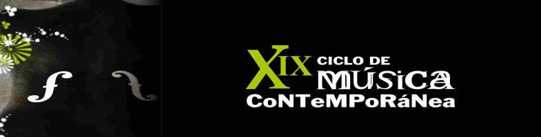 XIX Ciclo de música contemporánea